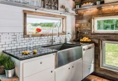 Kitchen Sink in the tiny house