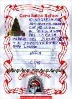 migliaia di letterine ...e per ogni letterina Babbo Natale consegna un dono in artigianato locale
