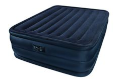 Intex Raised Downy Queen Airbed in Home, Furniture & DIY, Furniture, Beds & Mattresses | eBay 76€ 203 x 152 x 56 cm