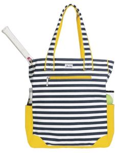 Check out what Nicole's Tennis Boutique has to offer for on and off the court! Ame & Lulu Ladies Emerson Tennis Tote Bags - Tilly