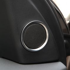 6pcs Chrome Door Stereo Ring Cover Trim For Land Rover Discovery Sport 2015 Car Styling