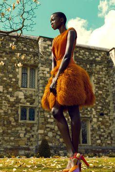 South Sudanese beauty, Nykhor Paul as shot byGabor Szantai. gorgeous !