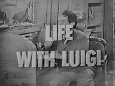 Life with Luigi DVD TV J.Carrol Naish Lost Episodes (1948) | Classic Movies and TV