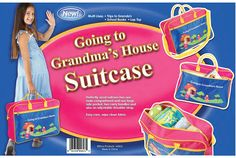 GOING TO GRANDMA'S HOUSE SUITCASE - GIRLS >>> To view further for this item, visit the image link. (This is an Amazon Affiliate link and I receive a commission for the sales)