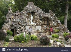 Arkansas Pocahontas St. Paul's Catholic Church Grotto Man ...
