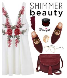 """Shimmer beauty"" by deeyanago ❤ liked on Polyvore featuring FOSSIL, Neous and vintage"