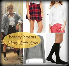 Hanna's Britney Spears Costume
