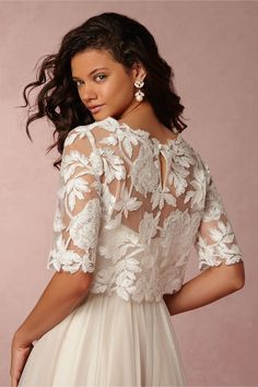BHLDN Ari Topper in Bride Bridal Cover Ups at BHLDN