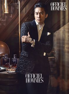 2014.12, L'Officiel Hommes, Song Seung Hun