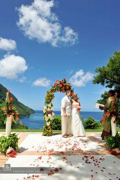 Amazing St Lucia Wedding!!!!