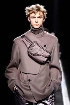The World's Fashion Business News Christian Dior Homme, Business News, Business Fashion, Raincoat, Menswear, Leather Jacket, Model, Jackets, Paris