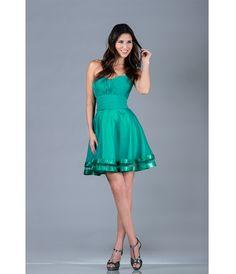 Jade Strapless Chiffon Short Prom Dress (31657-CIN1360) van Cinderella Divine Moto