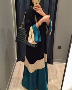 hijab, hijab fashion, and abaya image hijab, hijab fashion, and abaya image Arab Fashion, Islamic Fashion, Dubai Fashion, Muslim Fashion, Modest Fashion, Fashion Outfits, Estilo Abaya, Mode Abaya, Abaya Designs