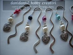 danidan67 hobby creativi: Segnalibro con perle