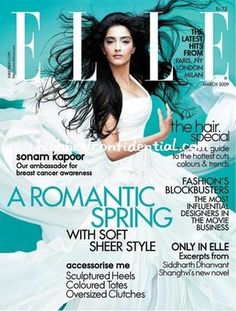 Sonam Kapoor (Elle India)