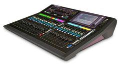 Allen & Heath - Good features and very nice touch screen! Music Studio Room, Sound Studio, Recording Studio Equipment, Allen And Heath, V Tech, Dj Gear, Professional Audio, Recorder Music, Dream Studio