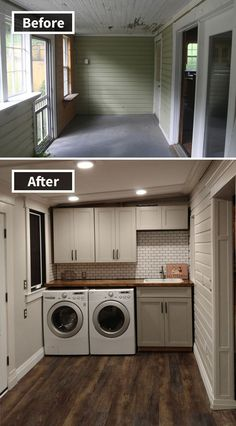 Foreclosure Home Remodeling There are many foreclosure home remodeling projects being undertaken everyday by professional contractors. These repair teams specialize in turning a foreclosed home int… Home Improvement Projects, Home Projects, Home Improvements, Architecture Renovation, Building Renovation, Building Cabinets, Home Remodeling Diy, Mobile Home Renovations, House Renovations