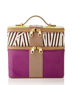 WEST 57TH SMALL PATENT TRAIN CASE | Travel | Henri Bendel