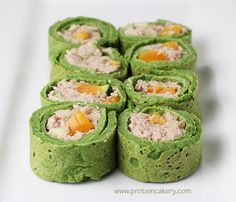 Spinach Protein Wraps