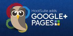 HootSuite ya permite administrar paginas de Google  gratis