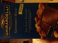 The Ghiradelli Gourmet Milk Sea Salt Escape chocolate bar that came in my VoxBox. At first it sounded like a taste that wouldn't work... But OMG IT WAS DELICIOUS!!!