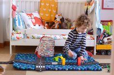 Tappeti colorati per le camerette: la mia scelta è Sukhi Nursery Design, Kids Rooms, Baby Kids, Toddler Bed, Babies, Furniture, Home Decor, Die Cutting, Child Bed