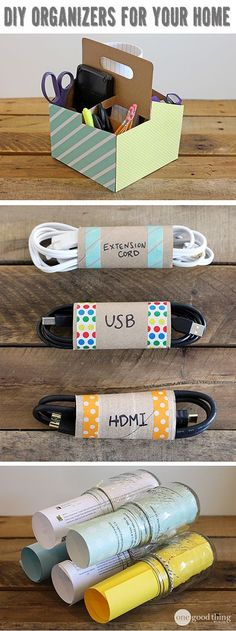 Ideas for getting organized at home so things can run smoother throughout the school year.