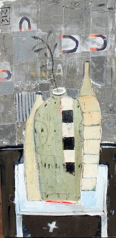 Nathaniel Mather  #mixed media #collage
