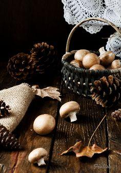 El champiñón es fuente de vitamina B, necesaria para el correcto funcionamiento del sistema nervioso. Alimentos saludables que nos encanta usar en Mundo Verde #mundoverde