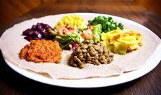 The Wass Ethiopian Restaurant James St. Ethiopian Cuisine, Ethiopian Restaurant, Vegan Restaurant Options, Healthy Foods To Eat, Healthy Eating, Yummy Food, Tasty, Vegan Lifestyle, Plant Based Diet