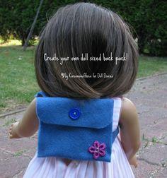 American Girl Doll Backpack