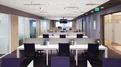 Empresa global de serviços profissionais escritório corporativo área de trabalho