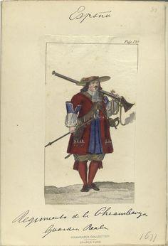 Pag. 132] Regimiento de la Chiamberga [?] Gvardia Reale (1677). Index