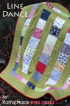 Line Dance Quilt Tutorial by Pink Chalk Studio (Moda Bake Shop)