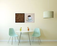 Chairs and table: for the office coffee nook