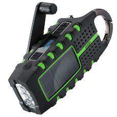 Etón Raptor NSP200WXB Solar USB Charger and Weatherband Radio (Black):Amazon:Electronics