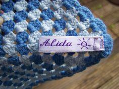 Mijn eigen labeltje !! Made by Alida!!