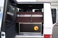 The G-Box brings both cooking and sleeping hardware to the G-Class