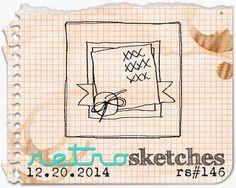 retro sketches : a challenge: retrosketches #146...