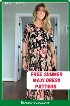 How would you like to take your boring, rarely used maxi dress and turn it into something spectacular, romantic and sexy? This free summer maxi dress tutorial is going to help you achieve just that. This is a great pattern for beginners because it doesn't entail making the dress from scratch. If you have some dresses that you don't wear frequently, this pattern will make them hip, with a dash of fashion… Summer Maxi, Summer Dresses, Maxi Dress Tutorials, Summer Dress Patterns, Stunning Summer, Free Summer, Love Sewing, Free Pattern, Tunic Tops