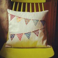 street party cushion, via Flickr.