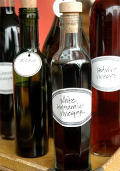 bottles for oil and vinegar