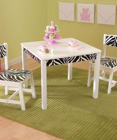 Another great find on #zulily! Funky Fun Table & Chair Set by KidKraft #zulilyfinds