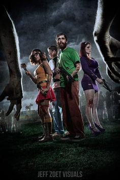 Zombie Apocolypse: Scooby & Mystery Inc. by Jeff Zoet Visuals