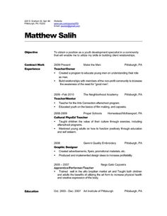 Teaching Resume Whether You Are Applying For An Advancements