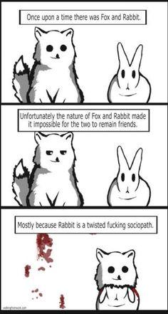 Haha crazy rabbit