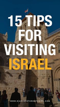 Israel is an incredible country with so much culture and history. Here are some helpful travel tips for visiting Israel! Travel Deals, Travel Destinations, Travel Tips, Toronto Girls, Visit Israel, Toronto Travel, Jordan Travel, Travel Advisory, Israel Travel