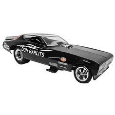 Don #Gartilts 1971 Don Garlits #Dodge Charger 1/18 #Nhra Diecast Funny Car Legends Of The Quarter Mile Auto World