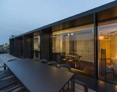 L'attico dei grandi classici del design, a Bergamo