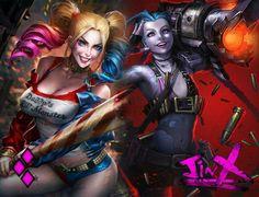 Harley Quinn & Jinx